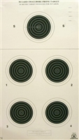 NRA Official Small bore Rifle Target  A-27 - Box of 250