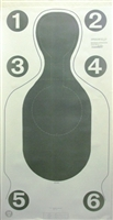 Official US Customs CAT-III Target - Box of 200