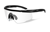 GLSWC Wiley-X Shooter Wrap Glasses Clear - EA