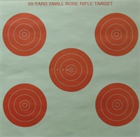 GW Range Target - 50 YD Small Bore - Box of 500