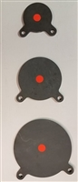 "Gong Multi-Pack - 8"", 6"", & 4"" - 3/8"" AR 500 Steel Targets  - Box of 3"