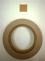 Target Repair Paster - Brown Square - Roll of 1000