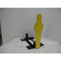 Pepper Popper 1/2 Size AR500 Plate - Auto Reset