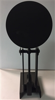 "8"" Round Challenge Steel Target with Stand - Auto Reset for Hand Gun Only"