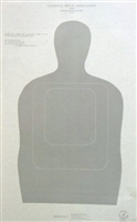 US Customs TQ-16 Target - Box of 500