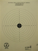 Official NRA TQ-40 - 5 Meter BB Gun Target - Box of 1000
