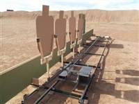 Portable Trolley Target System - WTS Training System