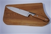olive handle French knife