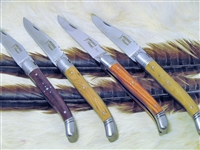 Laguiole folding knife. French European knife