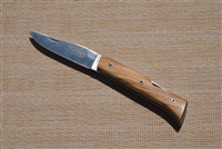 French lock back knife