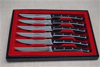 French Le Thiers table knives in black  acrylic
