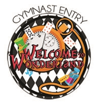 Gymnast Entry Fee - Achievement; Xcel  : Welcome to Wonderland