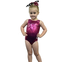 GK Peace Love Gymnastics Leotard (more colors)