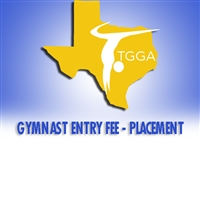 Gymnast Entry Fee - Placement  : State Championships