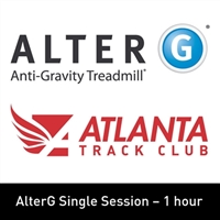 2. AlterG Single Session - 1 Hour - Member WITH PANT RENTAL