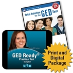 GED<sup>®</sup> Total Solution Study Bundle