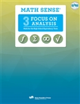 Math Sense: Focus on Analysis