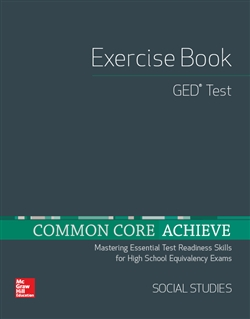 Common Core Achieve GED Exercise Book: Social Studies