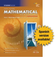 Steck-Vaughn GED Test preparation Student Edition Mathematical Reasoning