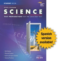 Steck-Vaughn GED Test preparation Student Edition Science