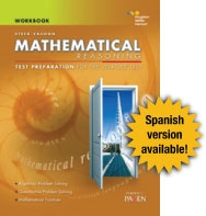 Steck-Vaughn GED Test preparation Student Workbook Mathematical Reasoning