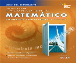 Steck-Vaughn GED Test preparation Spanish Student Edition Mathematical Reasoning