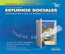 Steck-Vaughn GED Test preparation Spanish Student Workbook Social Studies