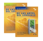 Steck-Vaughn GED Test preparation Spanish Student Print Bundle Reasoning Through Language Arts