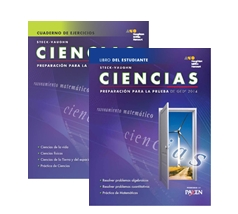 Steck-Vaughn GED Test preparation Spanish Student Print Bundle Science