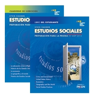 Steck-Vaughn GED Test preparation Spanish Student Print Bundle Social Studies