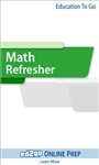 Math Refresher