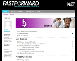 Fast Forward: Your Study Guide for GED Science