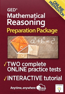 GED Mathematical Reasoning Preparation Package