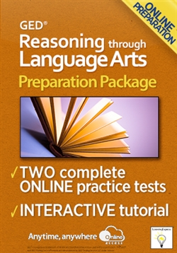 GED Reasoning through Language Arts Preparation Package