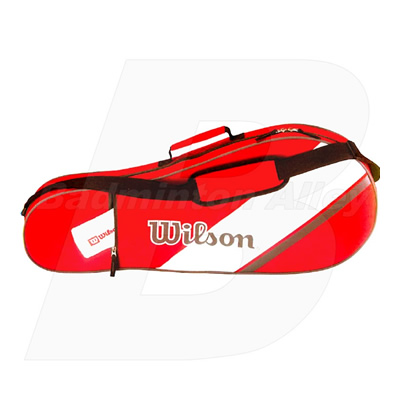 Wilson Triple Red Bag