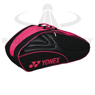 Yonex 8026-EX Black Magenta Tournament Active Badminton Tennis Thermal Bag