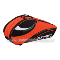 Yonex 8226-EX Black Orange Tournament Active Badminton Tennis Thermal Bag