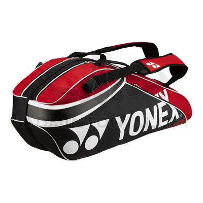 Yonex 9326EX Black / Red Pro Badminton Tennis Thermal Bag