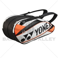 Yonex 9526EX White Orange Pro Badminton Tennis Racket Thermal Bag