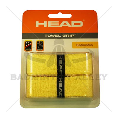 HEAD Towel Grip Yellow ( Dual Packaging )