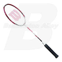 Wilson Titanium Smash Red White Badminton Racket