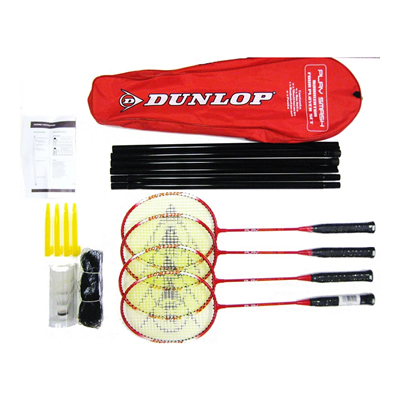 DUNLOP Badminton Outdoor Recreational Set