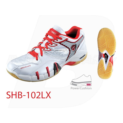 Yonex SHB-102 LX 2011 Bright Red Women Badminton Shoes