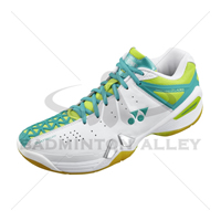 Yonex SHB-PC-01LX White Lime Women Badminton Shoes