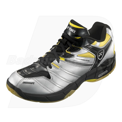 Yonex Power Cushion SHB-SC3MX 2011 Silver Yellow Men Badminton Shoes