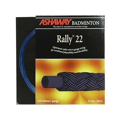Ashaway Rally 22 Badminton String - Electric Blue