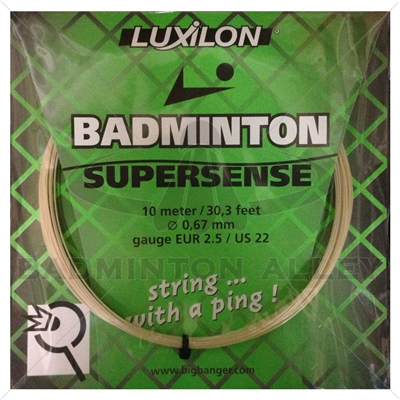 Luxilon Badminton Supersense String