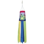 Garden Frogs Windsock