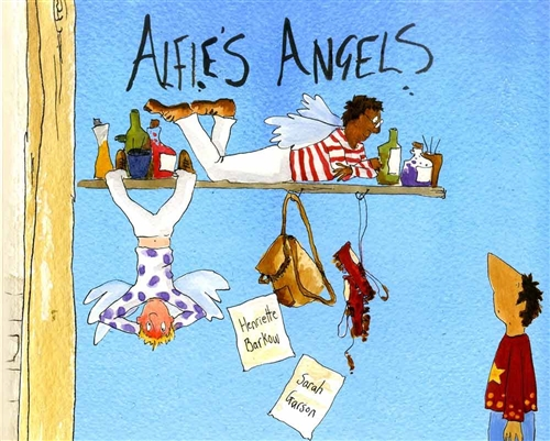 Alfie's Angels-English Big Book - Bilingual Book