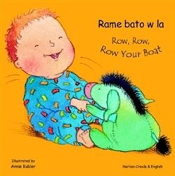 Row, Row, Row Your Boat - Bilingual Book